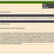 Скриншот: событие (event) в OpenNMS